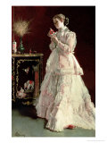The Lady in Pink  1867