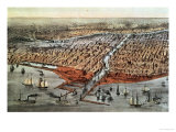 Chicago as it Was  circa 1880