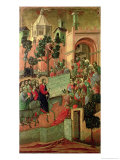 Maesta: Entry into Jerusalem  1308-11