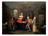 Marriage a La Mode: III  the Visit to the Quack Doctor  Before 1743