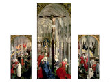 The Altarpiece of the Seven Sacraments  circa 1445-50