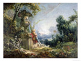 Pastoral Scene  or Young Shepherd in a Landscape