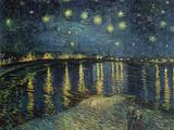 Nuit étoilée sur le Rhône,1888 Giclée par Vincent Van Gogh
