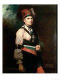 Joseph Brant  Chief of the Mohawks  1742-1807