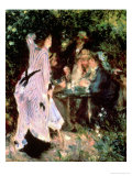 In the Garden  or under the Trees of the Moulin De La Galette  1875
