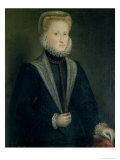 Anne of Austria  Queen of Spain (1549-80)  Wife of Philip II of Spain (1527-98)  circa 1573