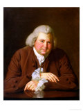 Portrait of Dr Erasmus Darwin (1731-1802) Scientist  Inventor  Poet  Grandfather of Charles Darwin