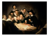 The Anatomy Lesson of Dr Nicolaes Tulp  1632 (Oil on Canvas)