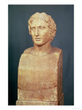 Portrait Bust of Alexander the Great (356-323 BC) Known as the Azara Herm  Greek Replica