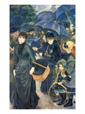 The Umbrellas  C1881-6 (Oil on Canvas)