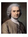 Portrait of Jean Jacques Rousseau (1712-78)