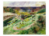 Landscape at Wargemont  1879