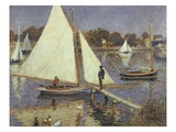 The Seine at Argenteuil  1874 (Oil on Canvas)