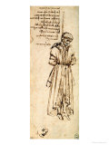 Study of a Hanged Man: Bernardo Baroncelli  Assassin of Giuliano De Medici  1479