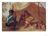 Osceola in Captivity  circa 1837