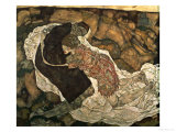 Death and the Maiden (Mann Und Madchen)  1915
