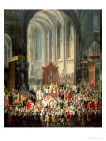 The Coronation of Joseph II (1741-90) as Emperor of Germany in Frankfurt Cathedral  1764