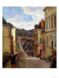A Suburban Street  1884