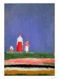Trois figures, 1913-28 Giclée par Kasimir Malevich