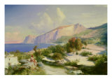 The Marina Grande  Capri  circa 1829