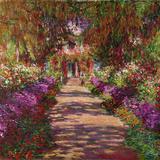 A Pathway in Monet's Garden, Giverny, 1902 Giclée par Claude Monet