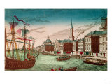 The Landing of English Troops at New York  September 1776  Pub by J Chereau  Paris