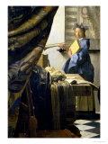 The Painter in His Studio  1665-6