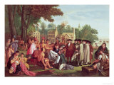 William Penn&#39;s Treaty with the Indians in 1683