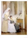At Notre-Dame Du Perpetuel Bon Secours Hospital  1903
