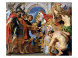 Abraham and Melchizedek  1615-18