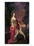 Elizabeth Gunning  Duchess of Hamilton  1752-3