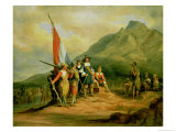 The Landing of Jan Van Riebeeck (1619-77) 6th April 1652  1850