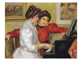 Yvonne and Christine Lerolle at the Piano  1897 (Oil on Canvas)
