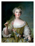 Portrait of Madame Sophie (1734-82)  Daughter of Louis XV  at Fontevrault  1748