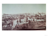 View of Utica City  New York State  Which Built up Around the Traffic on the Erie Canal