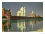 The Taj Mahal  1874-76