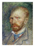 Self Portrait  1887 (Oil on Paper)