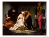 The Execution of Lady Jane Grey  1833