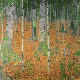 The Birch Wood  1903 (Oil on Canvas)