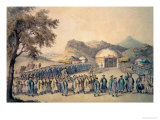 The Approach of the Emperor of China to His Tent in Tartary to Receive the British Ambassador