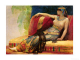 "Cleopatra (69-30 BC)  Preparatory Study for ""Cleopatra Testing Poisons on the Condemned Prisoners"""