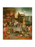 Temptation of St Anthony (Centre Panel)