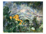 Montagne Sainte-Victoire and the Black Chateau  1904-06