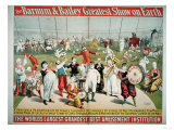 Poster Advertising the Barnum and Bailey Greatest Show on Earth
