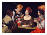 The Cheat with the Ace of Diamonds  circa 1635-40