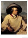 Johann Wolfgang Von Goethe (1749-1832) in the Campagna  circa 1790