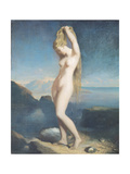Venus Anadyomene  or Venus of the Sea  1838