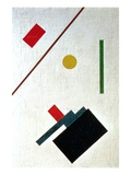 Suprematist Composition, 1915 Giclée par Kasimir Malevich