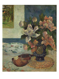 Still Life with a Mandolin  1885 (Oil on Canvas)