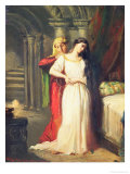 Desdemona Retiring to Her Bed  1849